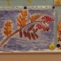 Выставка рисунков «Такая разная осень» (фотоотчет)