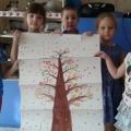 Коллективная аппликация «Дерево»