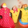 Новая жизнь старой игрушки, или Куклы би-ба-бо из бросового материала