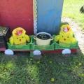 Мастер-класс «Изготовление цыплят для украшения участка детского сада»
