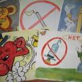 Фотоотчёт выставки «Курить-не только себе вредить!»