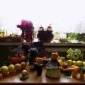 Фотоотчет: выставка поделок из овощей и фруктов «Волшебный сундучок осени» в подготовительной группе