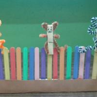 Дидактическая игра по ФЭМП «Кот на заборе»