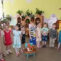 Экскурсия в мини-музей «Не золотое, а простое!» для детей среднего дошкольного возраста
