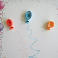 Детский мастер-класс по квиллингу «Разноцветные шары!»
