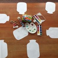 Конспект занятия по рисованию в технике пуантилизма «Заготовка овощей на зиму»
