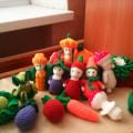 Дидактическая игра «Огород» для детей младшего дошкольного возраста