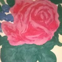 Рисование в технике пластилинографии «Весенний букет»