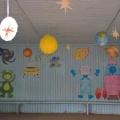 Оформление площадки на участке детского сада