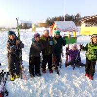 Фотоотчет «Лыжная подготовка дошколят»