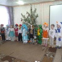 Фотоотчёт «Новый год в детском саду»