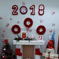 Оформление группы к Новому году-2018