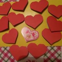 Детский мастер-класс «Изготовление валентинок»