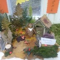 Фотоотчет о выставке совместных работ из природных материалов родителей и детей «Осенние фантазии»