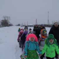 Фотоотчёт о празднике «Колядки»