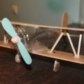 Поделка «Самолёт Великой Отечественной войны»