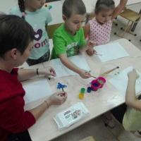 Фотоотчет о родительском мастер-классе по нетрадиционному рисованию «Каллы»