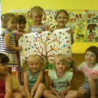 Мастер-класс по коллективной аппликации «Дерево дружбы»