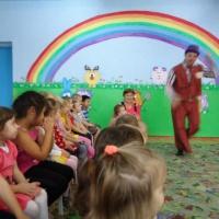 Фотоотчет «К нам приехал кукольный театр»
