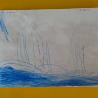 Перспективное планирование по рисованию для второй младшей группы на первый квартал «Осень»