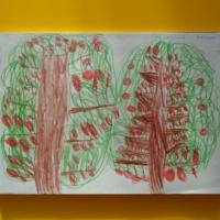 Перспективное планирование по рисованию для средней младшей группы на первый квартал «Осень»