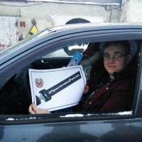 Фотоотчет об участии в акции «Пристегнись, Россия!»