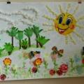 «Вот оно какое наше лето!» Фотоотчёт о создании плаката о лете