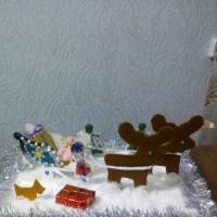 Мастер-класс изготовления поделки «Сани Деда Мороза»