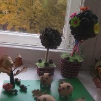 Фотоотчет о конкурсе детских работ «Осенний калейдоскоп»