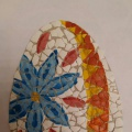 Мозаика из природного материала