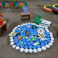Оформление участка к летнему оздоровительному периоду в старшей группе «Детский сад, детский сад— это домик для ребят!»