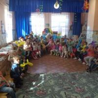 Фотоотчет о развлечении для детей «Добрый цирк в гостях у «Чайки»