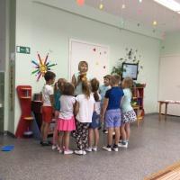 Интегрированное занятие в подготовительной группе «В гости к Лесовичку»