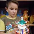 Выполнение дымковской игрушки (мастер-класс)