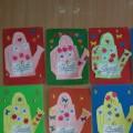 Детское творчество к 8 марта. Фотоотчет
