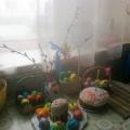 Фотоотчёт о создании элементов декора нашего пасхального стола
