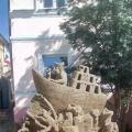 Фотоотчет об экскурсии на выставку песочных фигур
