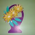 Мастер-класс по аппликации «Корзина с цветами в подарок для мамы на 8 Марта»