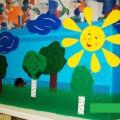 Летняя ширма для детского сада своими руками. Мастер-класс с пошаговыми фото