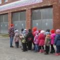 «Спички детям не игрушки». Экскурсия в «МЧС» дети подготовительной группы