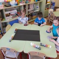 Конспект непосредственной образовательной деятельности для детей 3–4 лет по пальчиковому рисованию «Солнечная система»