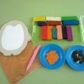 Детский мастер-класс «Рисуем пластилином»