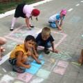 НОД на прогулке. Конкурс детского творчества «Дорисуй-ка!»