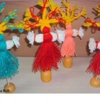 Детский мастер-класс «Кукла-Масленица из ниток»