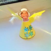 Поделка «Рождественский ангел»
