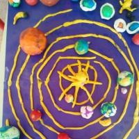 Фотоотчет «Космическая» деятельность детей разновозрастной группы ко Дню космонавтики