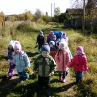 Фотоотчёт о прохождении экологической тропы (средняя группа)
