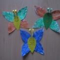 Мастер-класс по аппликации с элементами нетрадиционного рисования «Бабочки-листочки»