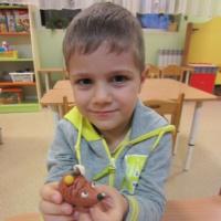 Детский мастер-класс «Ежик из пластилина»