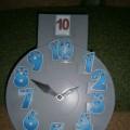 Дидактическая игра «Математические часы»